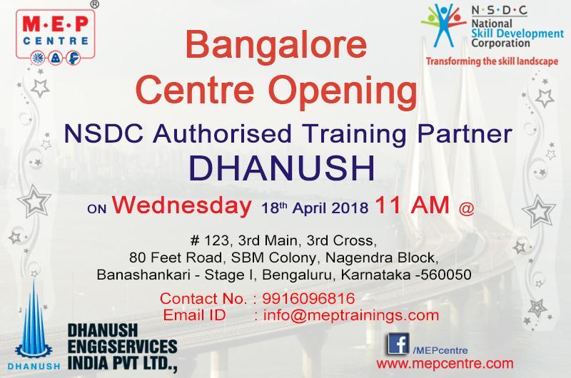 Bangalore Centre Opening