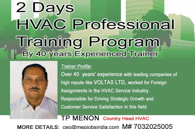 2Days HVAC Training